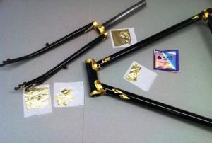 Kolb Rahmenbau / schwarz gold
